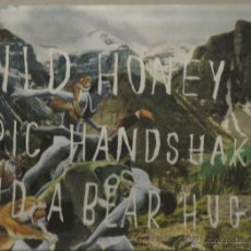 Discos de vinilo: LP & CD WILD HONEY ( GRUPO ESPAÑOL) : EPIC HANDS HAKES AND A BEAR HUG. Lote 41531112