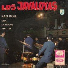 Discos de vinilo: JAVALOYAS, EP, RAG DOLL + 3, AÑO 1965. Lote 41531486