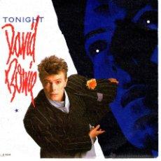 Discos de vinilo: DAVID BOWIE TONIGHT. Lote 41533406