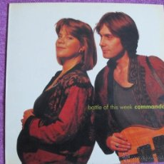 Discos de vinilo: LP - COMMANDO - BATTLE OF THIS WEEK (SPAIN, DISCOS VEMSA 1990). Lote 41553379