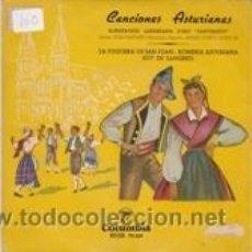 Discos de vinilo: CORO SANTIAGUIN DE SAMA E.P. (COLUMBIA). Lote 41554565