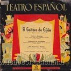 Discos de vinilo: EL GAITERO DE GIJON E.P. (ODEÓN). Lote 41554670