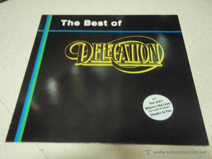 DELEGATION - THE BEST OF DELEGATION 1989 - GERMANY LP ZYX RECORDS (Música - Discos - LP Vinilo - Funk, Soul y Black Music)