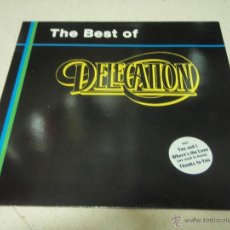 Discos de vinilo: DELEGATION - THE BEST OF DELEGATION 1989 - GERMANY LP ZYX RECORDS. Lote 41557131