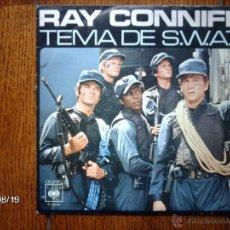 Discos de vinilo: RAY CONNIFF - TEMA DE S.W.A.T. + CANCIÓN DE MASH. Lote 41558202