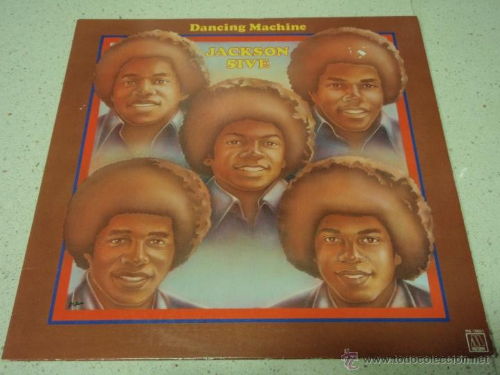 THE JACKSON 5 - DANCING MACHINE CALIFORNIA-USA 1974 LP MOTOWN RECORDS (Música - Discos - LP Vinilo - Funk, Soul y Black Music)