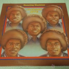 Discos de vinilo: THE JACKSON 5 - DANCING MACHINE CALIFORNIA-USA 1974 LP MOTOWN RECORDS. Lote 41559670