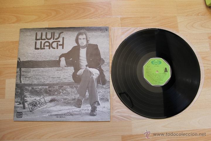 LLUIS LLACH EDICIÓ ESPECIAL CAIXA D'ESTALVIS PROVINCIAL DE GIRONA LP VINILO (Música - Discos - LP Vinilo - Cantautores Españoles)
