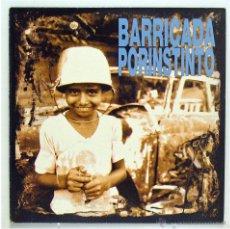 Discos de vinilo: BARRICADA - 'POR INSTINTO' (LP VINILO). Lote 41567305
