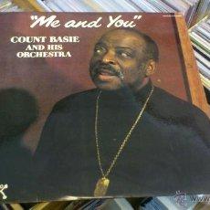 Discos de vinilo: COUNT BASIE AND HIS ORCHESTRA ME AND YOU LP DISCO VINILO PABLO JAZZ COLUMBIA . Lote 41567627