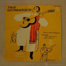 Discos de vinilo: TRIO LOS PARAGUAYOS. BAJO EL CIELO DE PARAGUAY. PHILIPS 1958. Lote 41570349
