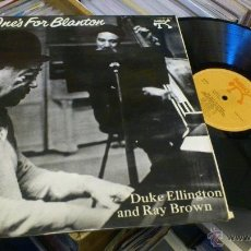 Discos de vinilo: DUKE ELLINGTON AND RAY BROWN LP DISCO VINILO PABLO RECORDS 1975 . Lote 41571790