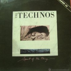 Discos de vinilo: THE TECHNOS-SPIRIT OF THE THING + + VISIONS OF THE NIGHT MAXI SINGLE VINILO 1984 PROMOCIONAL SPAIN. Lote 41572885