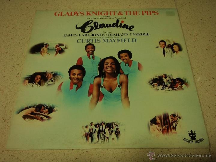 GLADYS KNIGHT & THE PIPS - CLAUDINE ENGLAND-1974 LP BUDDAH RECORDS (Música - Discos - LP Vinilo - Funk, Soul y Black Music)