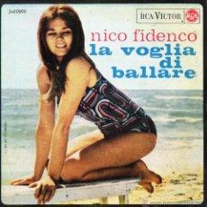 Discos de vinilo: NICO FIDENCO, EP, LA VOGLIA DI BALLARE + 3, AÑO 1965. Lote 41586655