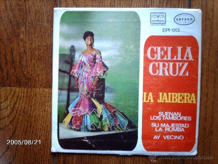 CELIA CRUZ - JAIBERA + 3 - EDICIÓN MEXICANA (Música - Discos de Vinilo - EPs - Grupos y Solistas de latinoamérica)