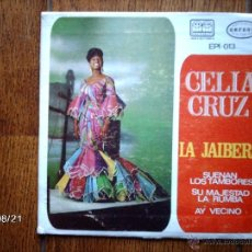 Discos de vinilo: CELIA CRUZ - JAIBERA + 3 - EDICIÓN MEXICANA. Lote 41590862