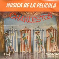Dischi in vinile: SILVIA PINAL - FRESQUIBILIS SUR MER BSO DE LA PELICULA CHARLESTON - EP RARO DE VINILO. Lote 41591125
