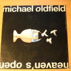 Discos de vinilo: MIKE OLDFIELD, HEAVEN, S OPEN, 1991, VIRGIN RECORDS, SPAIN, LP. Lote 41597340