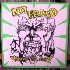 Discos de vinil: NO FRAUD - HARD TO THE CORE LP VINILO ORIGINAL 1988 HARDCORE. Lote 41600435