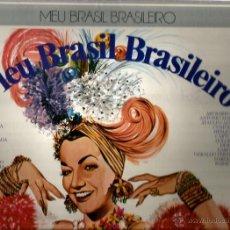 Discos de vinilo: CAJA 4 LP´S MEU BRASIL BRASILEIRO : GAL COSTA, CAETANO VELOSO, JOAO GILBERTO, ELIS REGINA . Lote 41602613