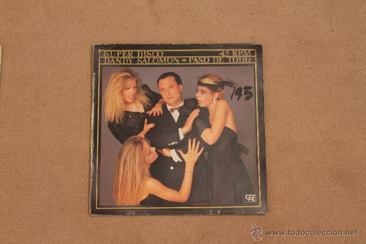 DANDY SALOMON - PASO DE TODO (Música - Discos de Vinilo - Maxi Singles - Grupos Españoles de los 70 y 80)