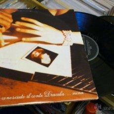 Discos de vinilo: MINA FINALMENTE HO CONOSCIUTO IL CONDE DRACULA ... MINA 2LP DISCO VINILO DOBLE . Lote 41605780