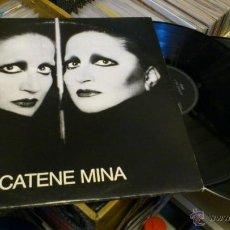Discos de vinilo: MINA CATENE DOBLE DISCO DE VINILO 2LP ORIGINAL 1984 . Lote 41605863