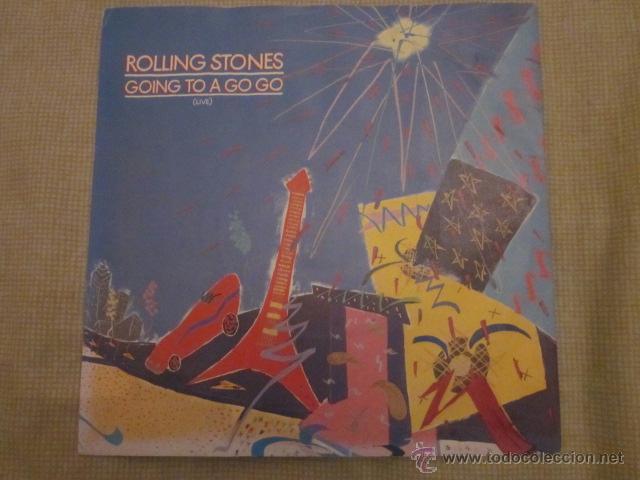 ROLLING STONES - GOING TO A GO-GO(LIVE). (Música - Discos - Singles Vinilo - Pop - Rock Extranjero de los 50 y 60)