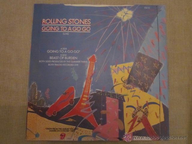 Discos de vinilo: ROLLING STONES - GOING TO A GO-GO(LIVE). - Foto 2 - 41606628