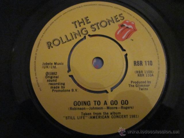 Discos de vinilo: ROLLING STONES - GOING TO A GO-GO(LIVE). - Foto 3 - 41606628