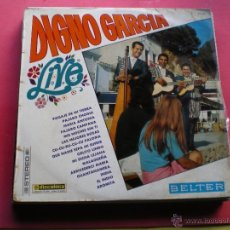 Discos de vinilo: DIGNO GARCIA....LIVE....LP-1968....MIS NOCHES SIN TI + QUE NADIE SEPA MI SUFRIR+ OTRAS PEPETO. Lote 41609220