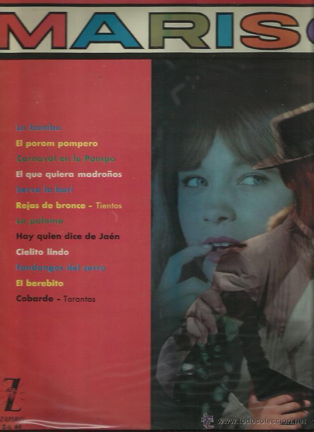 MARISOL LP SELLO ZAFIRO 1981 (Música - Discos - LP Vinilo - Flamenco, Canción española y Cuplé)