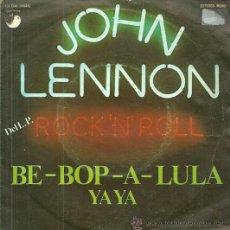 Discos de vinilo: JOHN LENNON SINGLE SELLO EMI-ODEON AÑO 1975. Lote 41627101