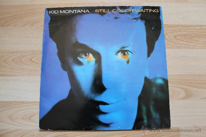 Discos de vinilo: KID MONTANA STILL COLORS WAITING MAXISINGLE LP VINILO - Foto 2 - 41634583