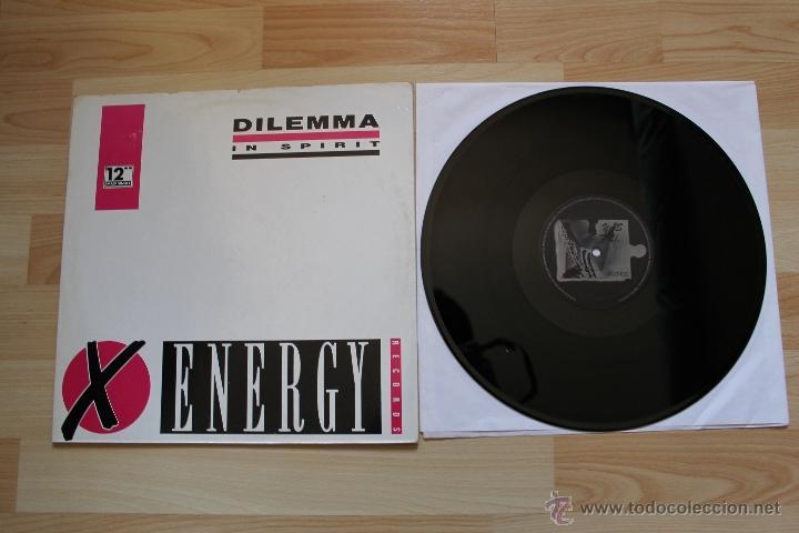 DILEMMA IN SPIRIT MAXISINGLE 12'' VINILO EDICION ESPAÑOLA (Música - Discos de Vinilo - Maxi Singles - Techno, Trance y House)