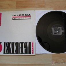 Discos de vinilo: DILEMMA IN SPIRIT MAXISINGLE 12'' VINILO EDICION ESPAÑOLA. Lote 41635286