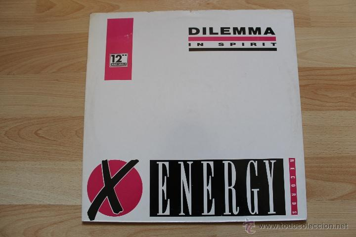 Discos de vinilo: DILEMMA IN SPIRIT MAXISINGLE 12 VINILO EDICION ESPAÑOLA - Foto 2 - 41635286