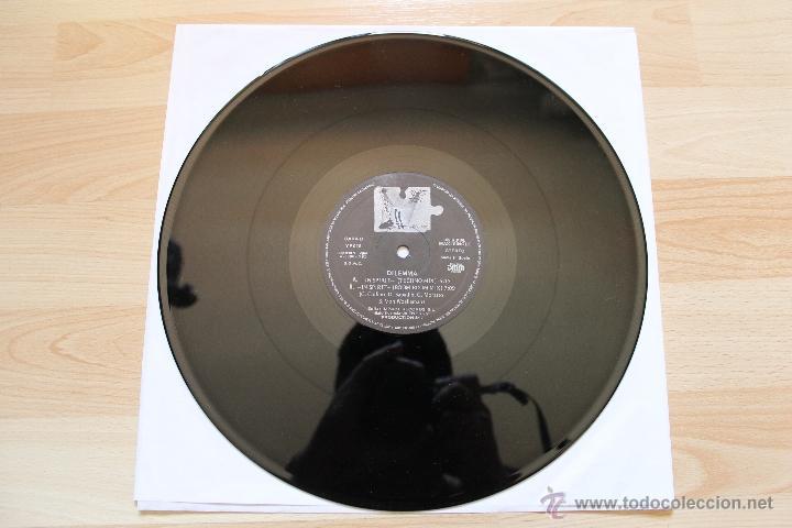 Discos de vinilo: DILEMMA IN SPIRIT MAXISINGLE 12 VINILO EDICION ESPAÑOLA - Foto 5 - 41635286