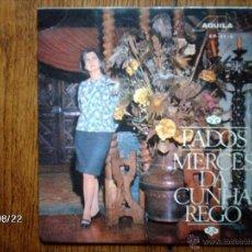 Discos de vinilo: MERCES DA CUNHA REGO - CAVALO RUSSO + 3 - EDICIÓN PORTUGUESA. Lote 41637220