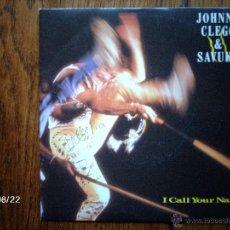 Discos de vinilo: JOHNNY CLEGG & SAVUKA - I CALL YOUR NAME + SHINE A LIGHT . Lote 41637521