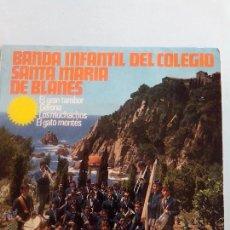 Discos de vinilo: BANDA INFANTIL SANTA MARIA DE BLANES. GATO MONTES Y 3+. HAZ TU OFERTA. Lote 41640768