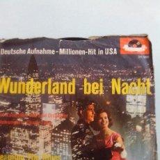 Discos de vinilo: WUNDERLAND BEI NACHT. DREAMING BLUES. BERT KAEMPFERT Y ORQUESTA. POLYDOR. Lote 41641331