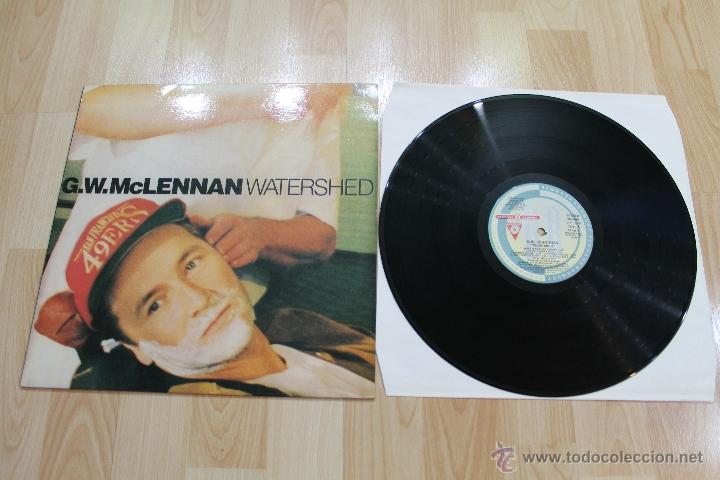 G.W. MCLENNAN WATERSHED LP VINILO PDI VLP-486 E-30.2480 (Música - Discos - LP Vinilo - Pop - Rock Internacional de los 90 a la actualidad)