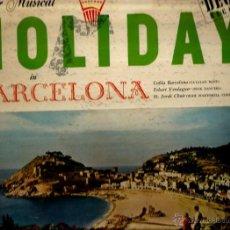 Discos de vinilo: LP YOUR HOLIDAY IN BARCELONA ( COBLA BARCELONA & ESBART VERDAGUER & ST. JORDI CHOIR ) . Lote 41647811