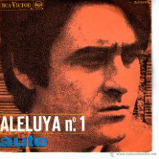 Discos de vinilo: LUIS EDUARDO AUTE - ALELUYA Nº 1 . Lote 41648769