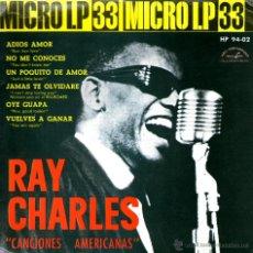 Discos de vinilo: RAY CHARLES ADIOS AMOR. Lote 41649111