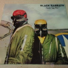 Discos de vinilo: BLACK SABBATH ( NEVER SAY DIE ) ENGLAND - 1978 LP33 VERTIGO. Lote 41654009