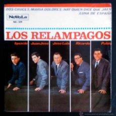 Discos de vinilo: LOS RELÁMPAGOS - DOS CRUCES - EP ORIGINAL ESPAÑOL. Lote 41656098