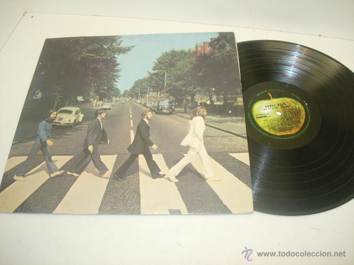 Discos de vinilo: BEATLES LP ABBEY ROAD APPLE RECORDS 1969 con títulos en castellano - Foto 1 - 41662090